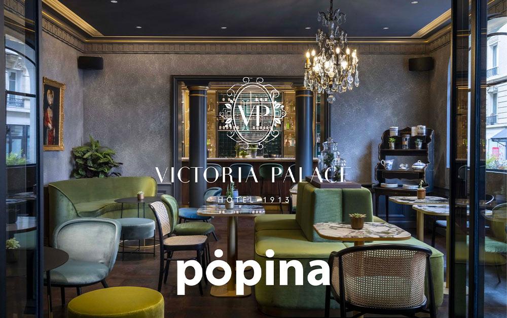 Popina la caisse enregistreuse sur iPad, une solution adaptée pour le Victoria Palace hôtel